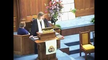 Sermon May 8th, 2011