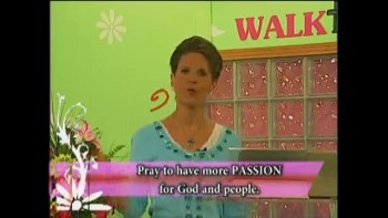 Walk the Walk with Ramona Wink-Gods Challenge Light Up the World 5-11-2011