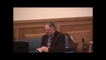 Pastor Ronald E. Maines Sermon 4/3/2011