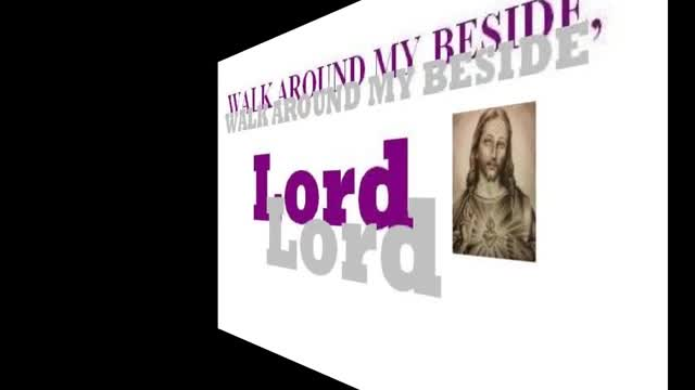 Walk Around Me Jesus by Katherine Pearce, Amy Maddox, & Horace Flournoy