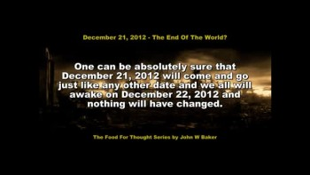 2012 - The End Of The World?