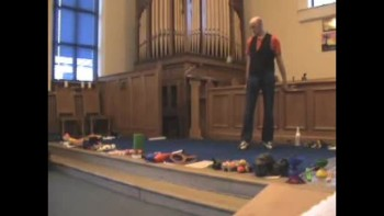 "Gospel Juggling Routine - If I Drop, Say ""Hallelujah"""