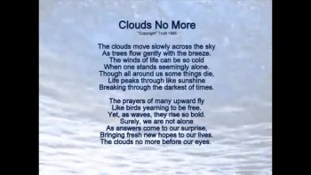 Clouds No More