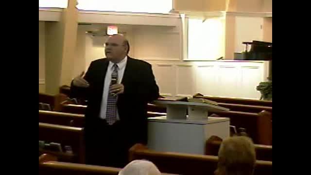 Sunday School 5-8-2011 Community Bible Baptist Church