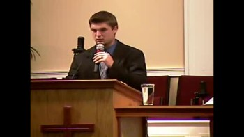 """4 Characteristics of a Christian Life"" - Sun PM Preaching - 5-8-2011 - Community Bible Baptist Church"