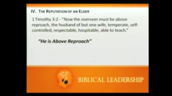 05 22 2011 Biblical Leadership II