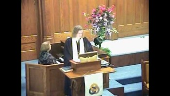 Sermon May 22nd, 2011