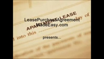 Lease purchase agreement