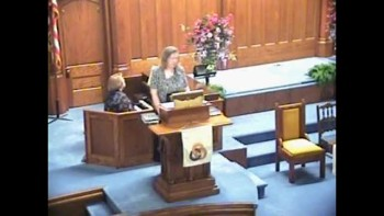 Sermon June 6th, 2011