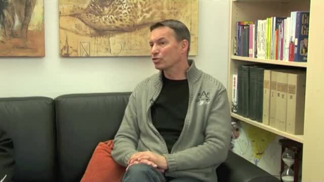 Germany's Pastor Peter Wenz on