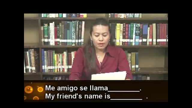 Flor's Introduction to Spanish Class for Summer Missions