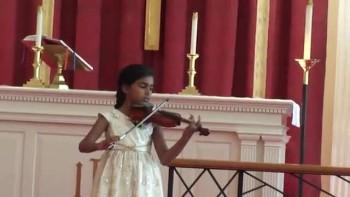 Joanna Abraham violin recital