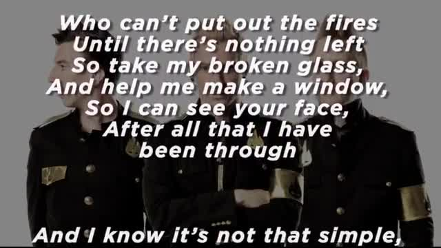 Thousand Foot Krutch - Watching Over Me (Slideshow With Lyrics)