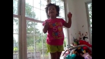 so funny, 2 y.o. mixes up her stories
