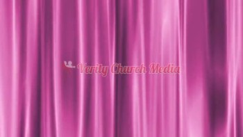 Purple Curtain Free Motion Loop