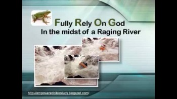 Rely on God in midst of Raging River