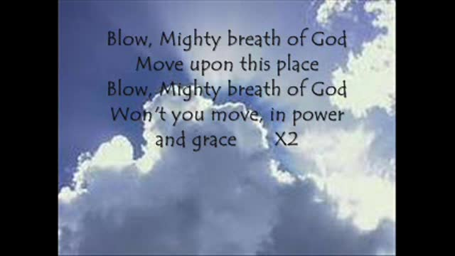 Mighty Breathe Of God Third Day