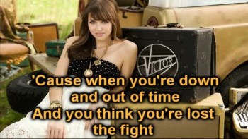 Francesca Battistelli - Angel By Your Side (Lyrics On Screen Video)