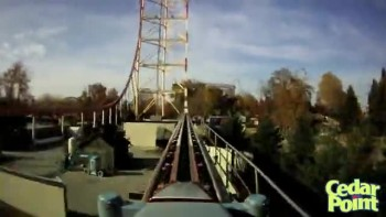 Top Thrill Dragster POV - Cedar Point