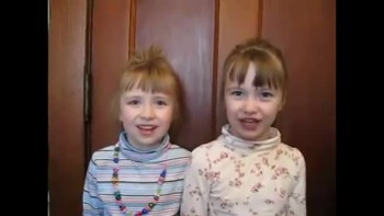 5 Year Old TWINS recite Hannah's Prayer