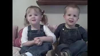 DARLING British Twins Recite Psalm 23