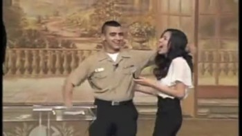 Unforgettable Church Proposal - Sailor Surprises Girlfriend With Early Homecoming