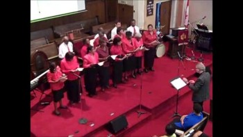 The St. Clair Baptist 'RockSteady' Choir sings: 'Jesus Is The One'