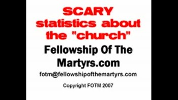 "Scary Stats about ""Church"""