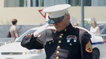 The Lone Marine - A Marine's Vigil