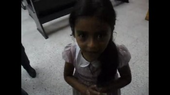 Precious Niña Recites The Lord's Prayer