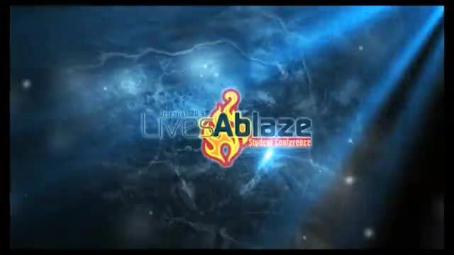 2011 Lives Ablaze Youth Conference Promo 2