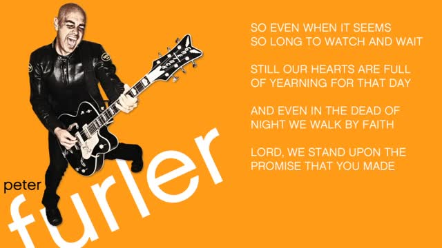 Peter Furler - Matter of Faith (Slideshow with Lyrics)