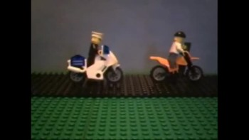 The Lego Cop Chase