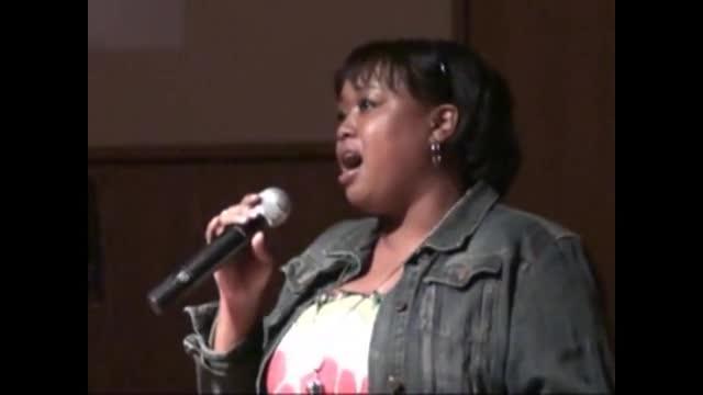 Misha Lewis singing Adonai