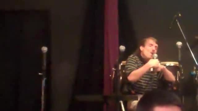 steve is singing