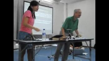 Pastor Mark Balmer Teaching in Thailand