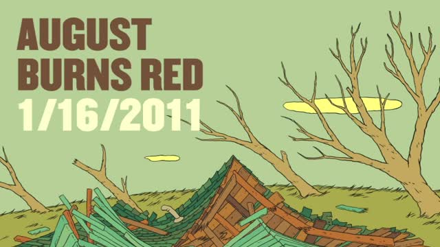 August Burns Red - 1/16/11 (Slideshow with Lyrics)