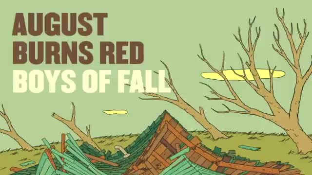 August Burns Red - Boys of Fall (Slideshow with Lyrics)