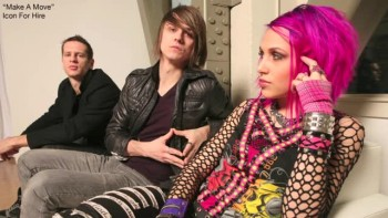 Icon For Hire - Make A Move (Slideshow with Lyrics)