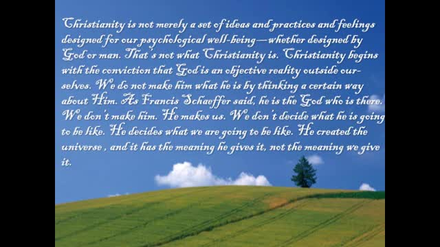 John Piper - What is Christianity?