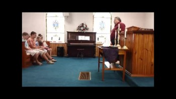 Blackwater UMC Children's Sermon - August 7, 2011