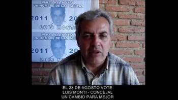 LUIS MONTI - Candidato a CONCEJAL de Las TALITAS