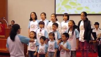 20110529兒童詩班獻詩