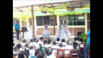 2011-03-31 Mission Highlights - Iglesia Nuevo Horizonte (Masatepe, NI) Traditional Dance