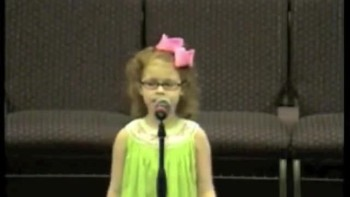 The Story of David  Goliath as Told By The Cutest Little Girl