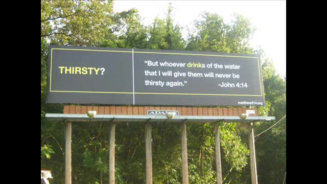 2010 Matthew 5:14 Billboards