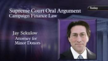Jay Sekulow Argues McConnell v. FEC