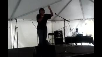 Kima Charysse Sings at Hillside Community Fun Fest