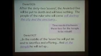 Bible Chart Daniel Part 2