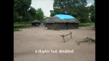 African Village Depae in Sudan